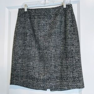 Tweed pencil skirt, size 8